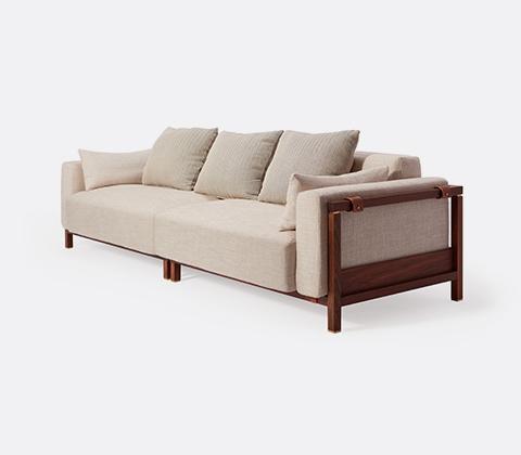 三 人 沙 发 | Triple Sofa Y-25b