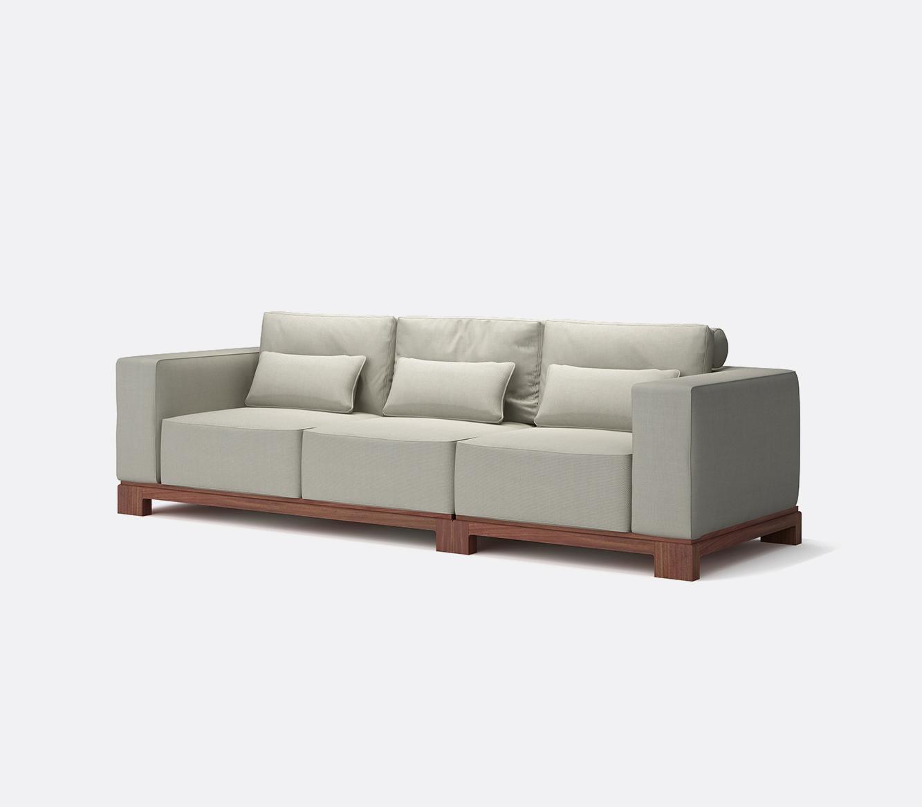 建筑师三人沙发   Y-62a