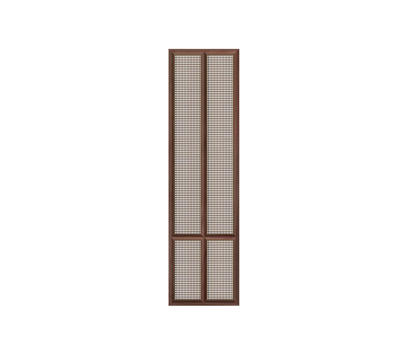 木框钢网屏风    P-12
